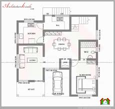 4 bedroom duplex house plans kerala inspirational square feet