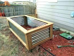 raised metal garden beds metal garden beds corrugated metal raised beds plans for raised garden beds
