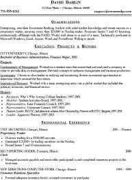 Sample Entry-Level Resume