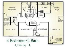 Superior 4 Bed / 2 Bath · House PlansBeach ...