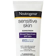 Sunscreen 60 Skin Lotion Sensitive Broad-spectrum Neutrogena Spf