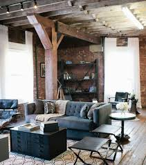 Living Room: Industrial Living Room Ideas - Living Rooms