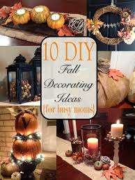 Two It Yourself: Fall Home Tour: 10 DIY Fall Decorating Ideas {for Busy  Moms}