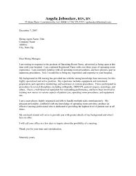Cover Letter For A Nurse Nursing Cover Letter Samples 24 Nurse 24 Crna Sample In Rn 6