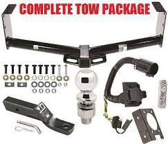 2010 2013 toyota tundra trailer hitch w oem replacement wiring 2010 2015 toyota tundra complete trailer hitch receiver tow package no drill