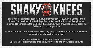 We honor tradition, but are far from traditional. Shaky Knees Music Festival Has Been Rescheduled For October Clture