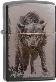 Бензиновая <b>зажигалка Zippo</b> Зажигалка бензиновая Zippo <b>Wolf</b> ...
