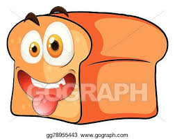 loaf of bread drawing. Wonderful Loaf Loaf Of Bread With Face For Of Bread Drawing D