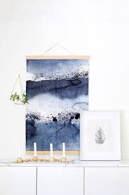 diy to try statement making fabric wall hanging