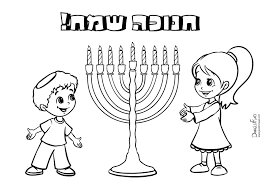 chanukah story coloring pages coloring pages