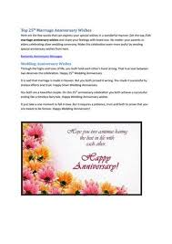 25th Anniversary Quotes Cool Top 48th Marriage Anniversary Quotes By Angela Rexario Issuu