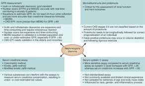 fall of glomerular filtration rate