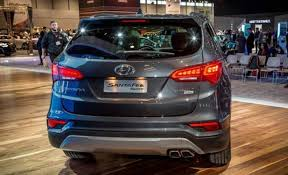 2018 hyundai sonata redesign. wonderful 2018 2018 hyundai santa fe sport rear and hyundai sonata redesign