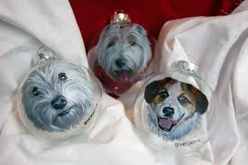 i have had many commissions for these painted glass ornaments i have a couple more to do before they are fun but very tedious