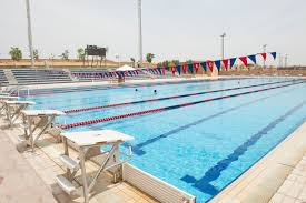 paul b hannon swimming pool auc a 50 meter by 25 meter 10 lane peion swimming pool that serves as the site for water polo