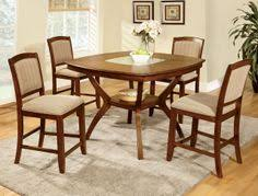 provo oak gl counter height table set high table setcounter height dining