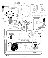 Motor wiring diagram for briggs and stratton 18 hp lawn tractor starter generator wiring