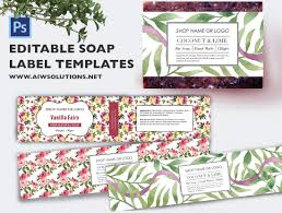 Ingredients Label Template Soap Label Template Id48