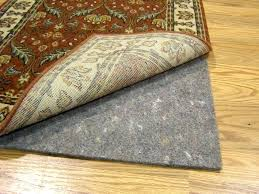 attractive inspiration padding for carpet rug on pad sticky side casualshoes club do you really need a sons