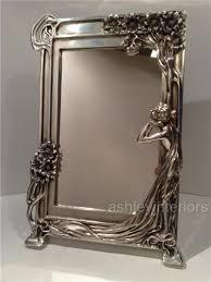 large art nouveau wall mirror