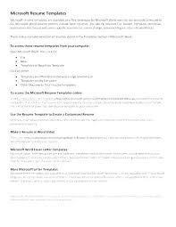 Build A Resume Free Online Mesmerizing How To Create Resume Template In Word 28 Templates Build Free