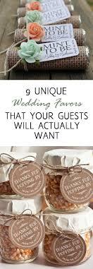 Cheap Diy Wedding Favors Ideas