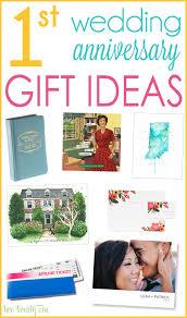 great 1st wedding anniversary gift ideas