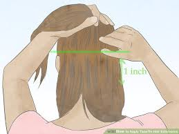 How To Apply Tape In Hair Extensions 11 Steps With Pictures