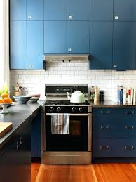 Navy Blue Kitchen Cabinets Enlarge Navy Blue Painted Kitchen