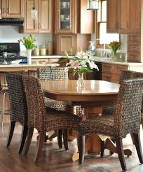 full size of bathroom marvelous dining table with wicker chairs seagrass unique 8 round dining table