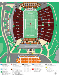 Unfolded Notre Dame Football Stadium Seating Chart