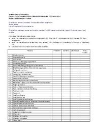 Sample Assessment Form 2 Supervisor What Time