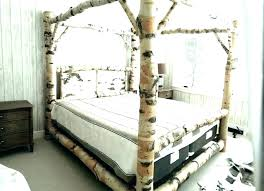 Canopy Bed King Wrought Iron Canopy Bed King Size Metal Beds Pottery ...