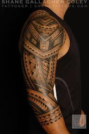 левый рукав полинезийские татуировки фото 2 Tatoo этническая