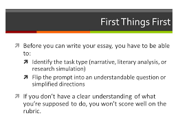 unpacking parcc prompts ppt video online  first things first before you can write your essay you have to be able to