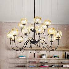 modern chandelier puppet made of murano glass 9508146 01