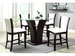 image of counter height pedestal table modern modern selfpub american drew camden round pedestal counter