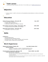 Resume Resume Objectives Retail Co Inside Objective For