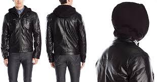lucky brand men s archibald faux leather moto jacket