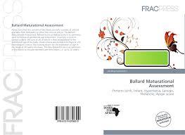Ballard Maturational Assessment 978 613 9 87082 0
