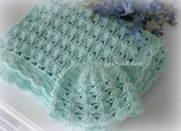 Crochet Baby Blanket Pattern Enchanting Lacy Crochet Diamond Stitch Baby Blanket Free Pattern