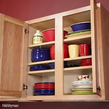 Kitchen Shelf Organization Kitchen Storage Ideas The Family Handyman