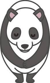 パンダがお辞儀 無料イラスト 素材good