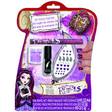ever after high nail art kit rebel fashion angels toys