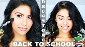 back to makeup tutorial 2017 no foundation natural glowy