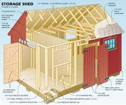 Small Picture The 25 best Wood shed plans ideas on Pinterest Shed blueprints
