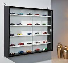 modern wall mounted display cabinet