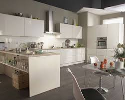 Cuisine Equipee Blanc Laque élégant Meuble Cuisine Laqu Meuble De