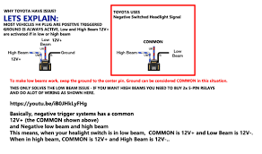 hid kit installation guide Hid Wiring Diagram With Relay toyota truck led hid headlight wiring hid wiring diagram with relay motorcycle