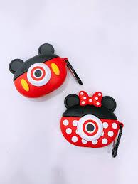 Bao Đựng Tai Nghe Dành Cho Airpods Pro hình chuột Mickey, Minie máy ảnh dễ  thương,